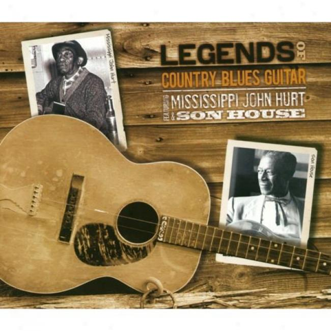 Legends Of Country Blues Guitar (3 Disc Box Set) (remaster)