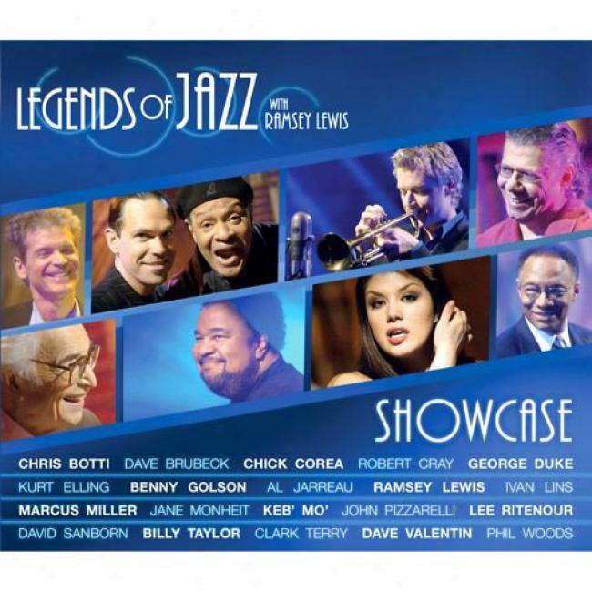 Legends Of Jazz Showcase With Ramsey Lewis (includes Dvd) (digi-pak)