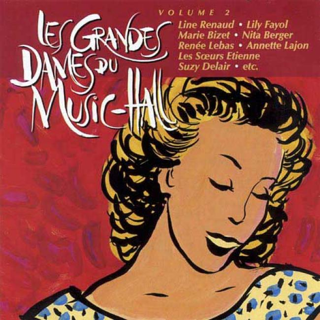 Les Grandes Dames Du Music-hall, Vol.2 (remaster)