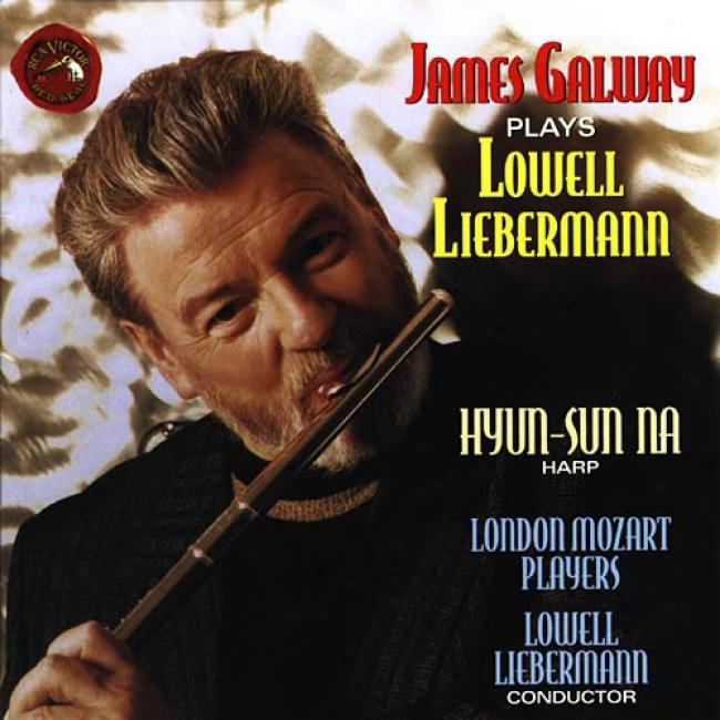 Liebermann: Concertos For Flute Piccolo & Flute And Harp
