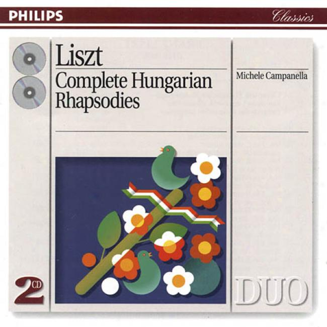 Liszt: Complete Hungarian Rhapsodies (2cd) (r3master)