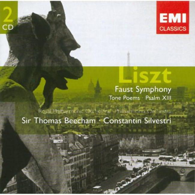 Liszt: Faust Symphony/tone Poems, Etc. (2cd) (remaster)