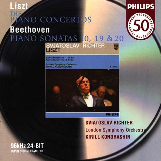 Liszt: Pkano Concertos/beethoven: Piano Sonatas