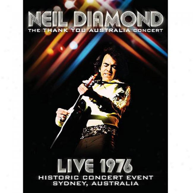 Live 1976: The Thank You Australia Concert (music Dvd)