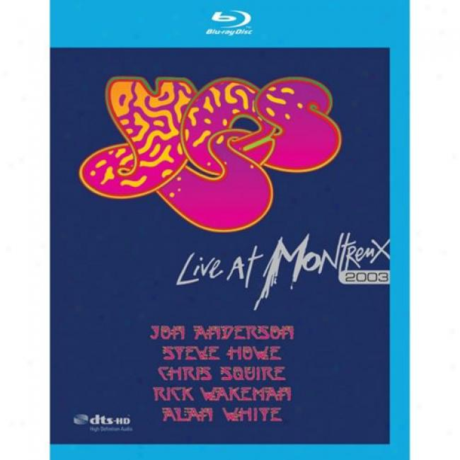 Live At Montreaux 2003 (music Blu-ray) (bd Amaray Case)