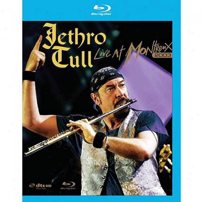 Live At Montreux 2003 (music Blu-ray) (bd Amaray Case)