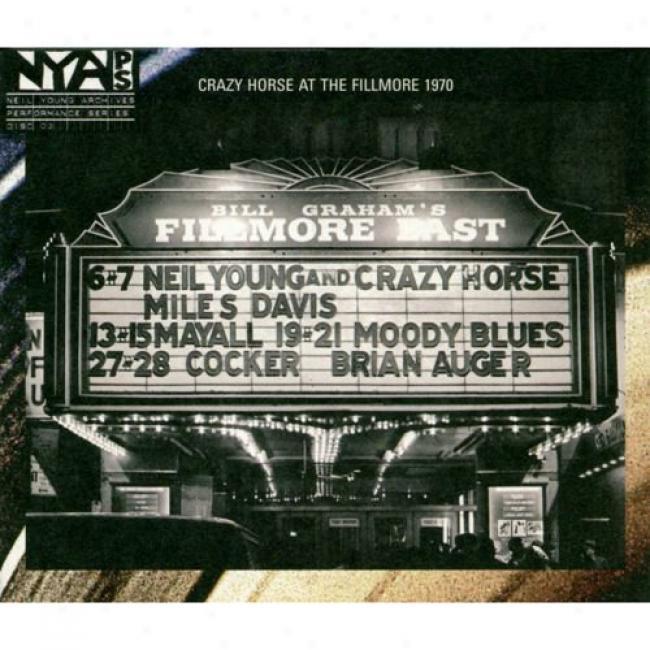 Live At The Fillmore East: March 6 & 7, 1970 (digi-pak)