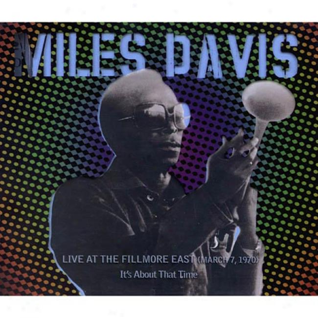 Live At The Fillmore East (march 7, 1970): It's About That Time (2cd) (remaster)