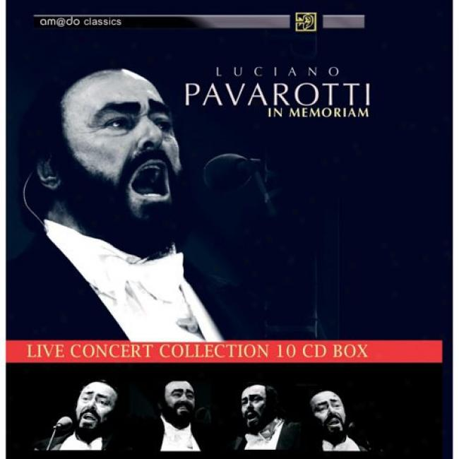Live Concert Collection: In Memoriam (10 Disc Box Swt)