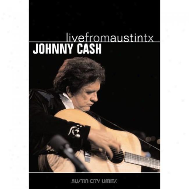 Live From Austin Tx. (music Dvd) (amaray Case) (dvd Slipcase)