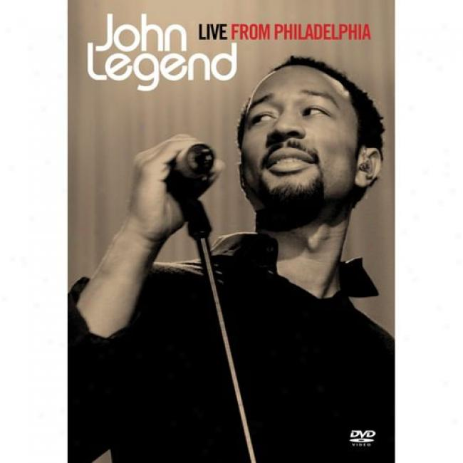 Live From Philadelphia (music Dvd) (amaray Case)