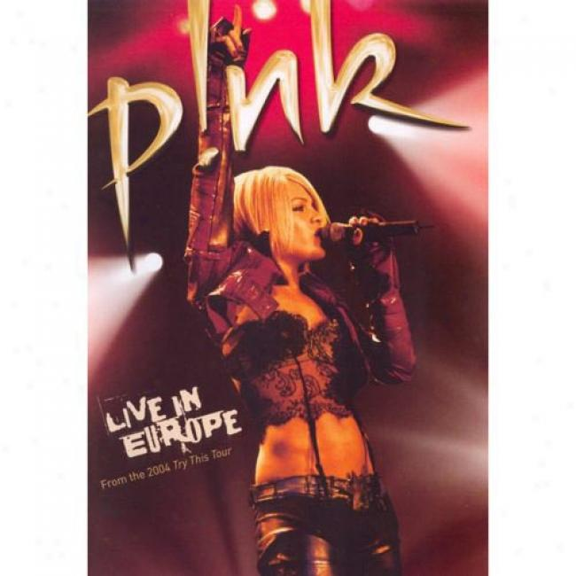Live In Europe: From The 2004 Try This Tour (music Dvd) (amaray Case) (edited)