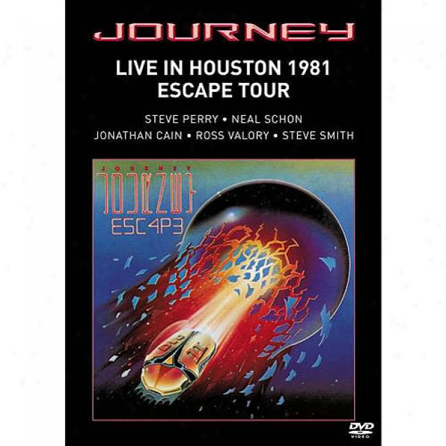 Live In Houston 1981: Escape Tour (music Dvd) (amaray Case)