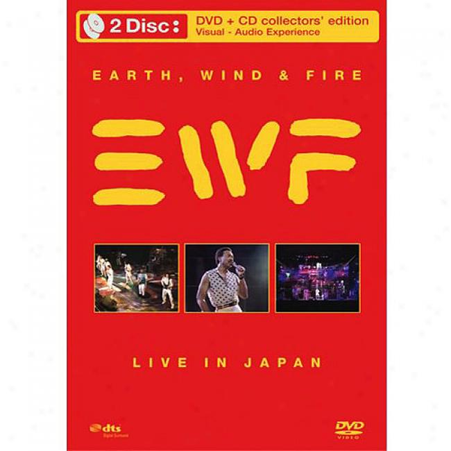 Live In Japan (collector's Edition) (music Dvd/cd) (amaray Case)