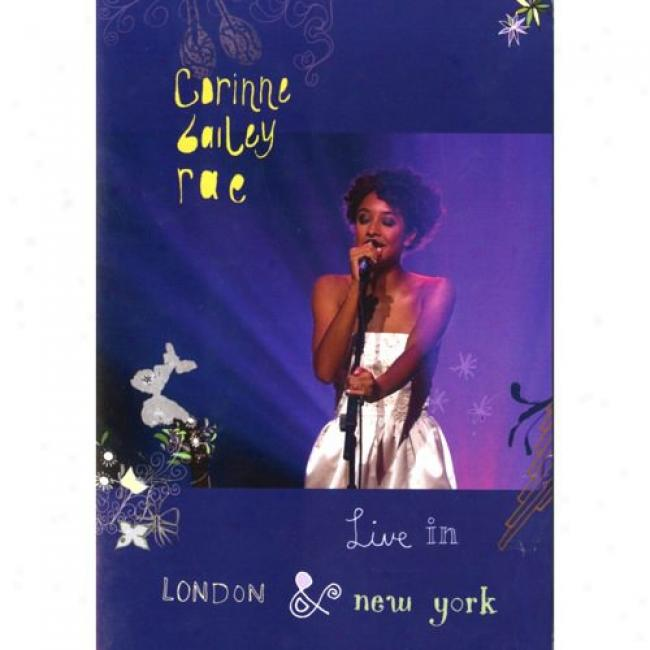 Live In London & New York (music Dvd/cd) (amaray Case)