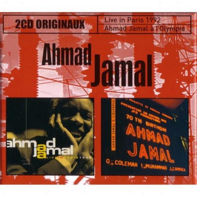 Live In Paris 1992/ahmad Jamal A L'olympia (2 Disc Box Set)