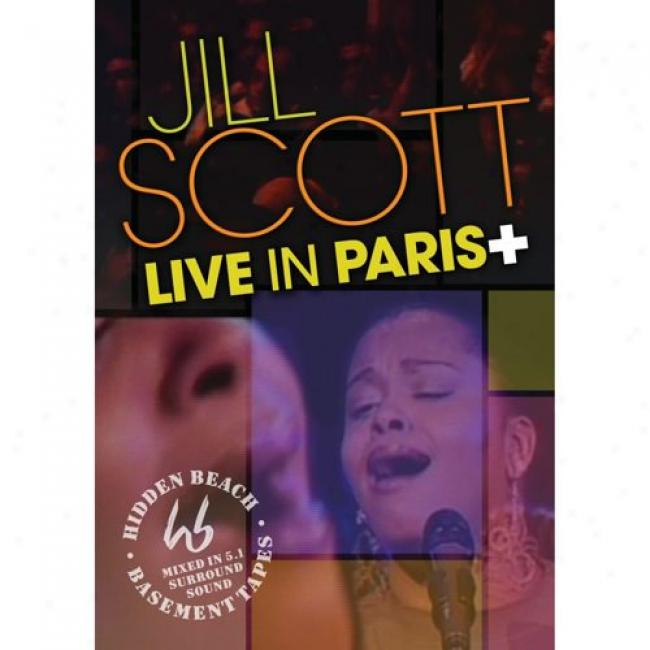 Live In Paris+: Words, Sights & Sounds, Vol.1 (music Dvd)