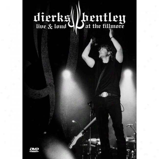 Live & Loud At The Fillmore (music Dvd) (amaray Case)
