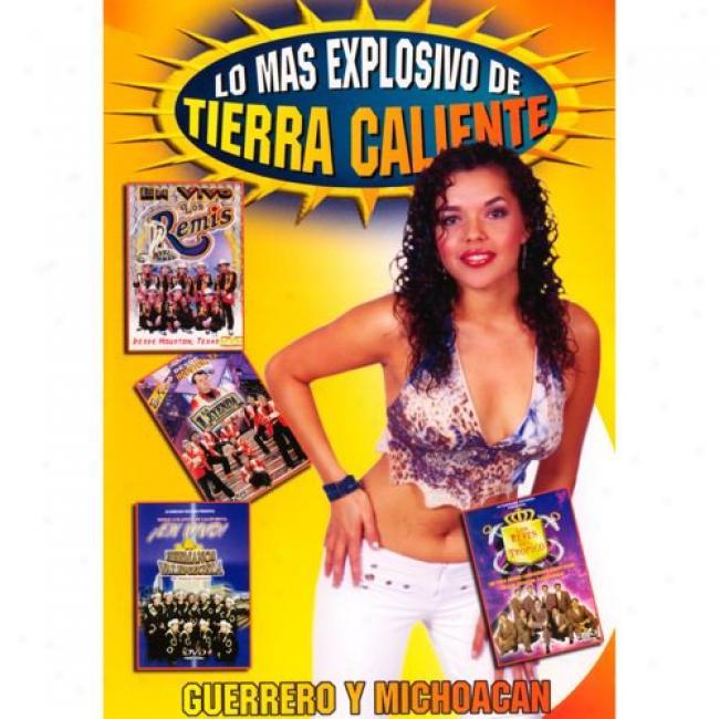 Lo Mas Explosivo De Tierra Caliente (music Dvd) (amaray Case)