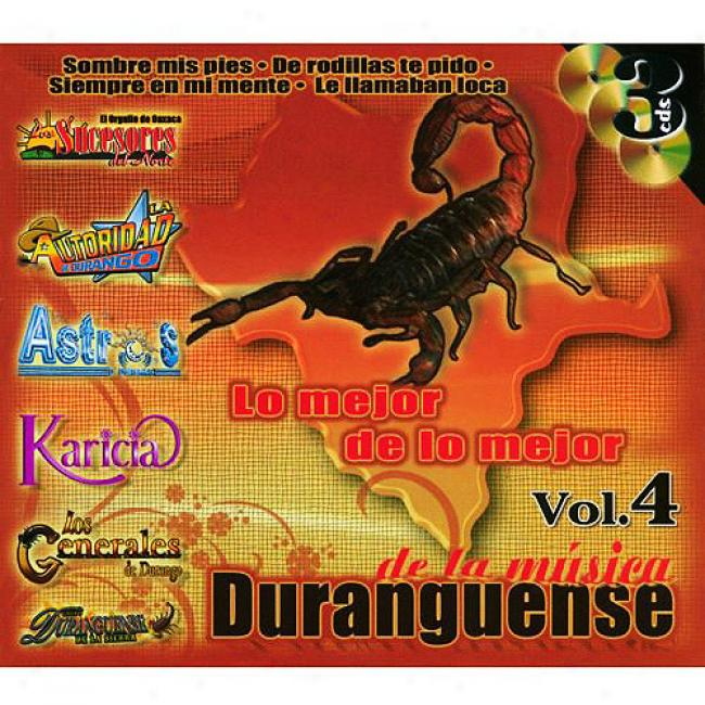 Lo Mejor De Lo Mejor, Vol.4: De La Musica Duranguense (3cd)