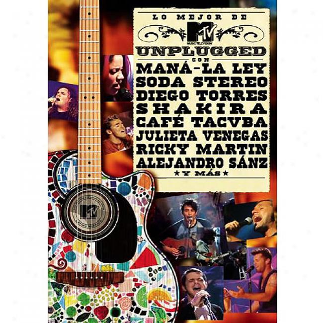 Lo Mejor De Mtv Unplugged (music Dvd) (amaray Case)