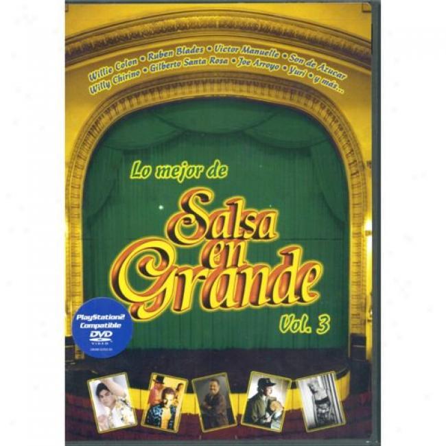Lo Mejor De Salsa En Grande, Vol.3 (music Dvd) (amaray Case)