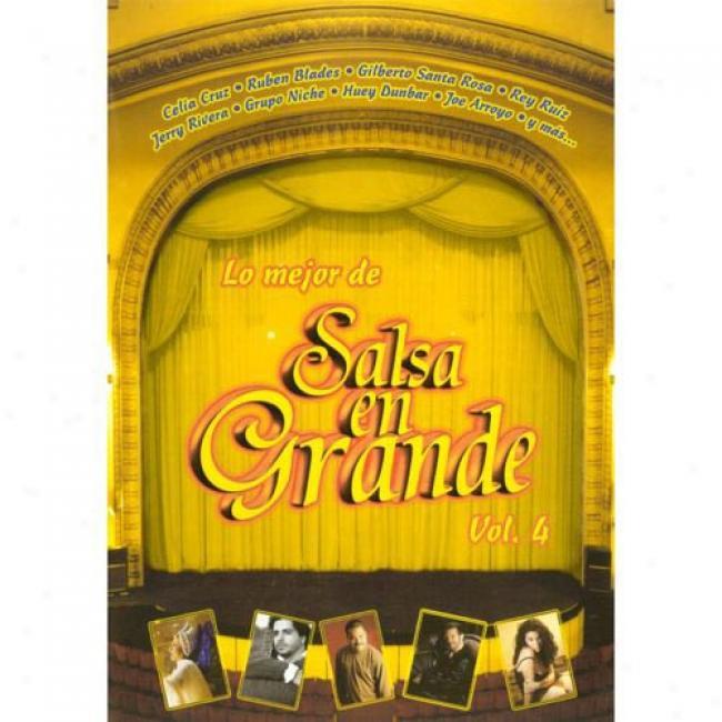 Lo Mejor De Salsa En Grande, Vol.4 (music Dvf) (amaray Case)