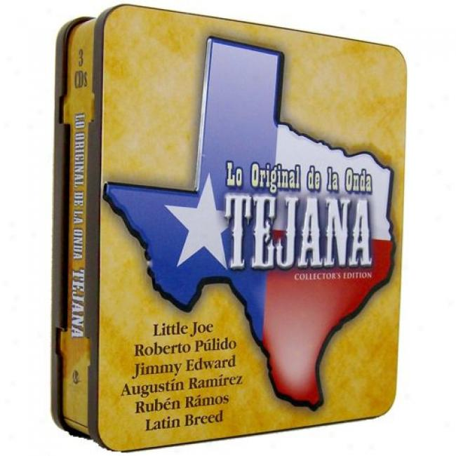 Lo Inventive De La Onda Tejana (collector's Edition) (3 Disc Box Set)