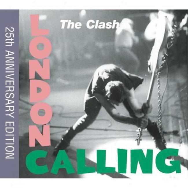 London Calling (25th Anniversary Eddition) (2cd) (includes Dvd) (digi-pak) (cd Slipcase) (remaster)