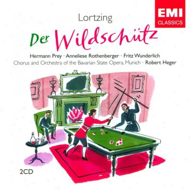Lortzing: Der Wildschutz (2 Disc Blow Set) (remaster)