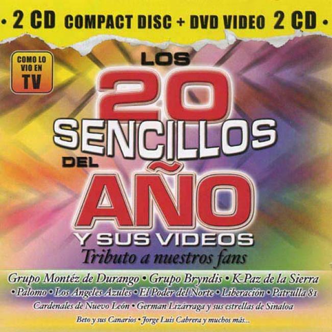 Los 20 Sencillos Del Ano Y Sus Videos: Tributo A Nuestros Fans (includes Dvd)