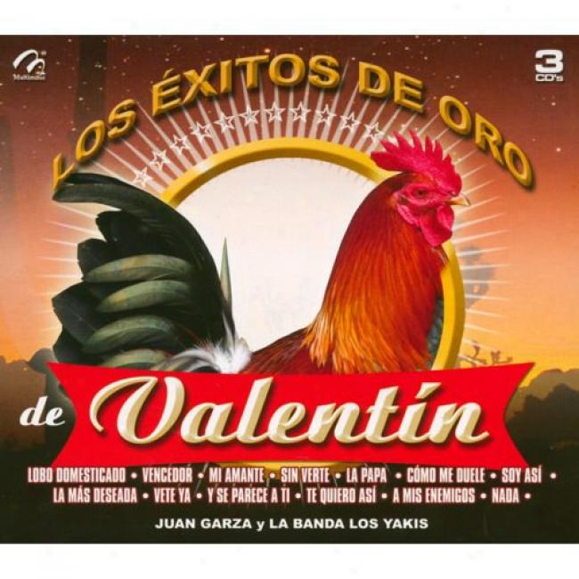 Los Exitos De Oro De Valentin (3 Disc Box Set)
