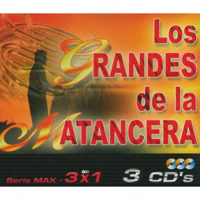 Los Grandes De La Matancera: Serie Max - 3 X 1 (box Set)