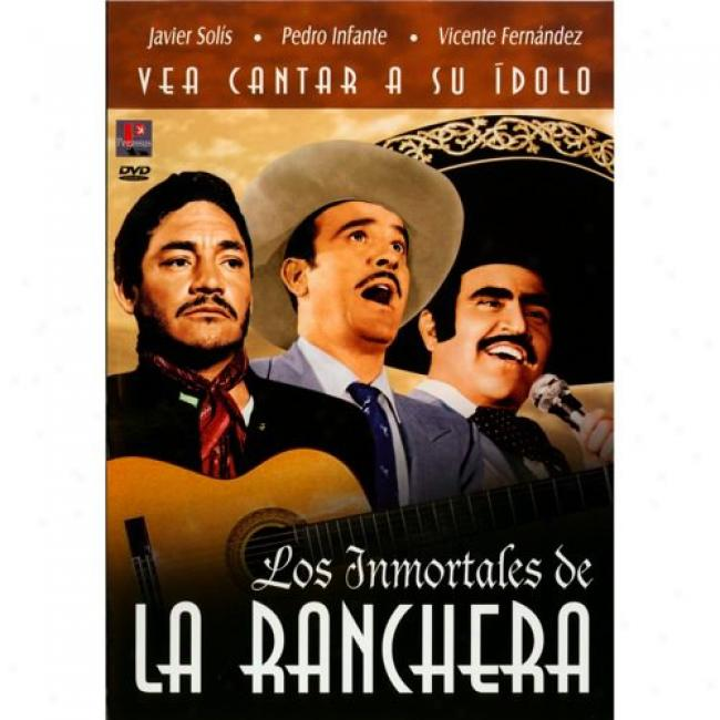 Los Inmortales De La Ranchera (2 Discs Music Dvd) (amaray Case) (remaster)