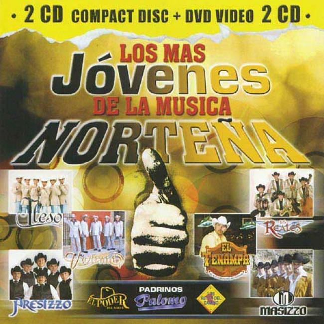 Los Mas Jovenes De La Musica Nortenna (includes Dvd)