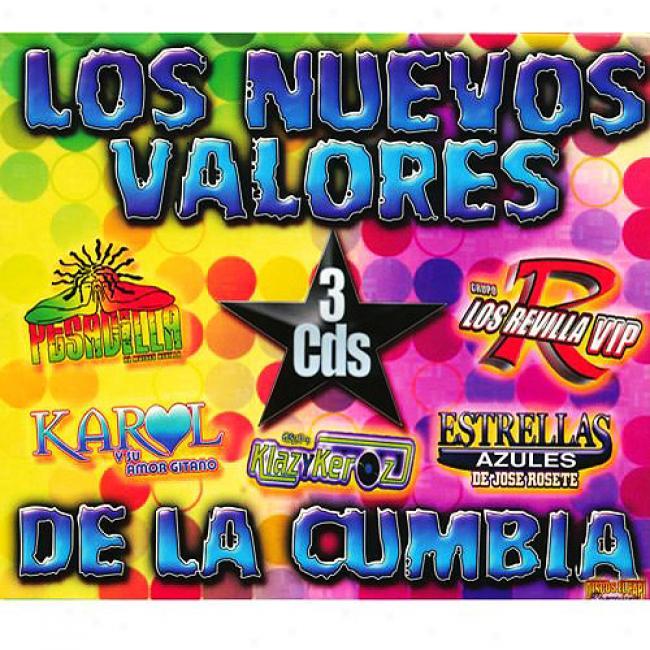 Los Nuevos Valores De La Cumbia (3 Disc Box Set)