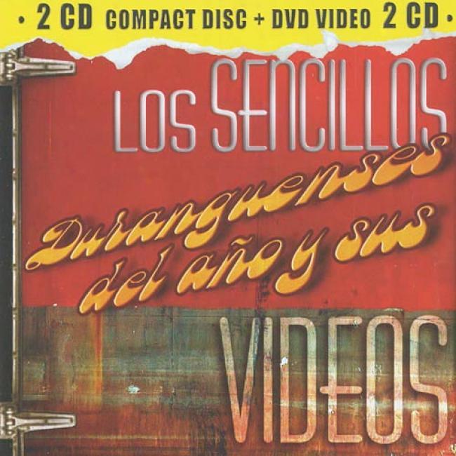 Los Sencillos Duranguenses Del Ano Y Sus Videos (incldes Dvd)