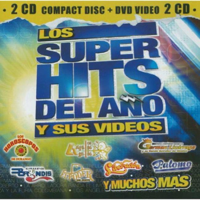 Los Super Hits Del Ano Y Sus Videos (includes Dvd