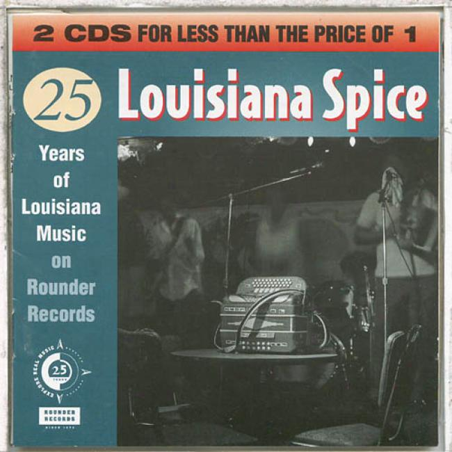 Louisiana Spice: 25 Years Of Louisiana Music On Roudner Records (2cd)
