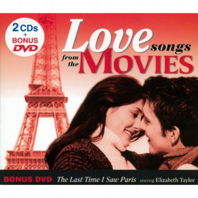Love Songs From The Movies (2cd) (includes Dvd) (digi-pak)