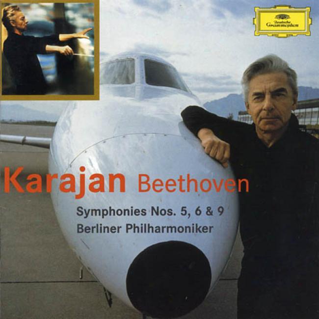 Ludwig Van Beethoven: Symphonies Nos.5, 6 & 9 (2cd) (remaster)