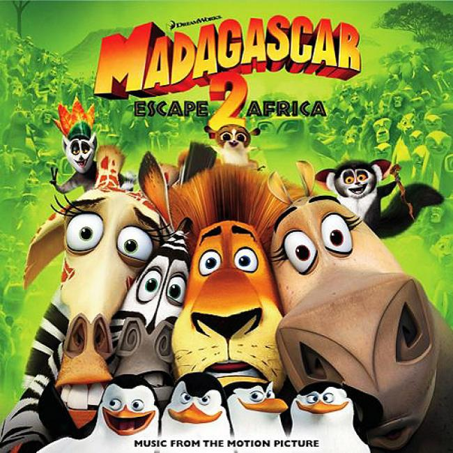 Madagascar: Escape 2 Africa Soundtrack (enhanced Cd)
