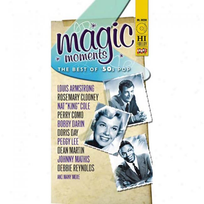 Magic Moments: The Best Of '50s Pop (box Set) (remaster)