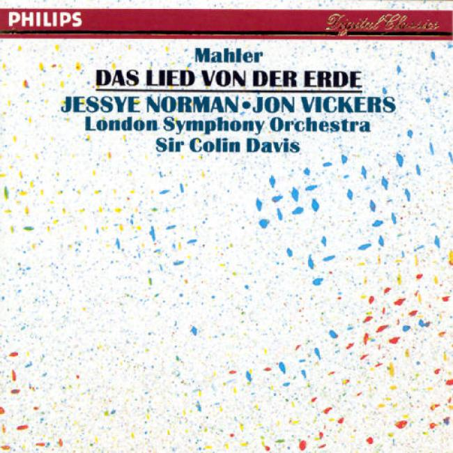 Mahler: Das Lied Von Der Erde/davis, Norman, Vickers