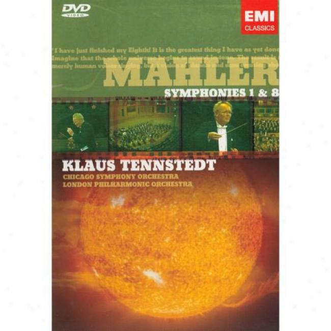 Mahler: Symphonies 1 & 8 (2 Discs Music Dvd) (amaray Case)