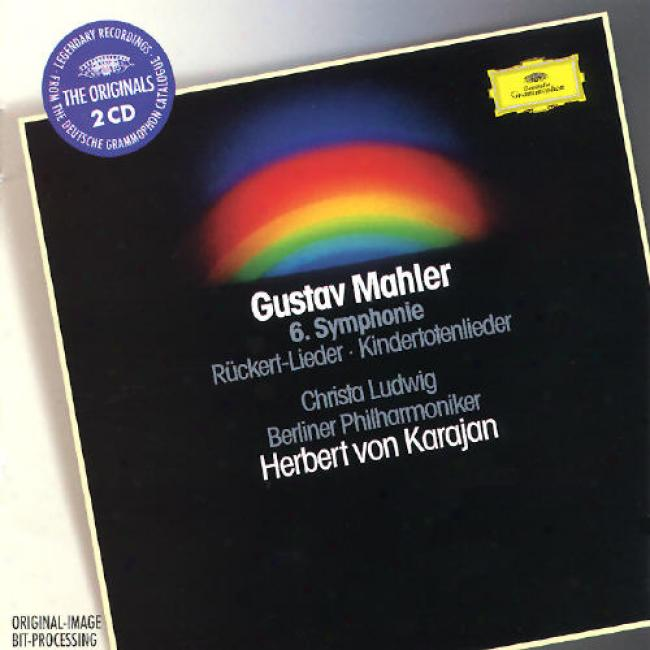 Mahler: Sym;hony No 6, Lieder / Karajan, Ludwig, Berlin Po