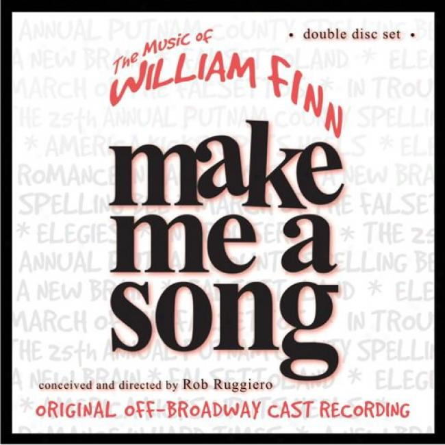 Make Me A Song: The Music Of William Finn Soundtrack (2cd)