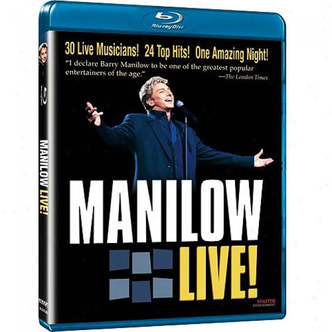 Manilow Live! (music Blu-ray) (bd Amaray Case)