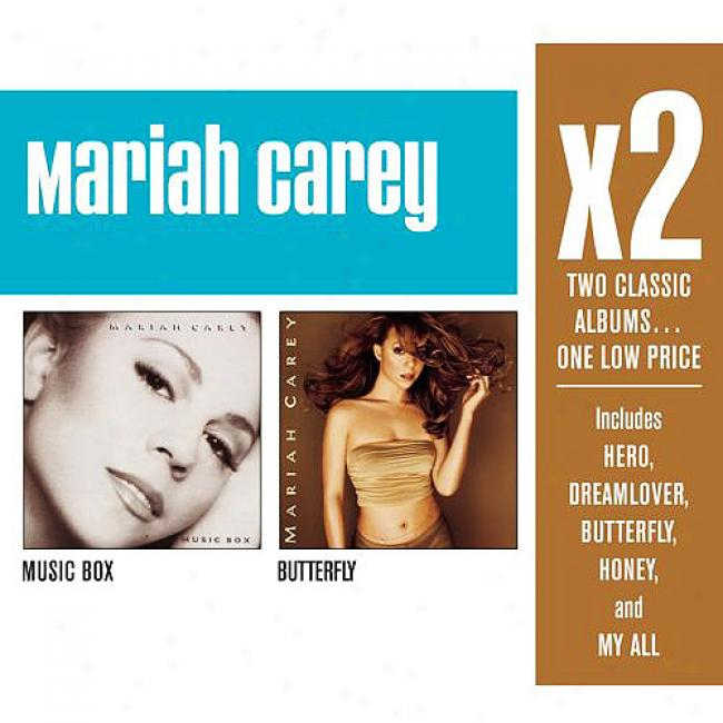 Mariah Carey: X2 (2 Disc Strike  Set) (cd Slipcase)