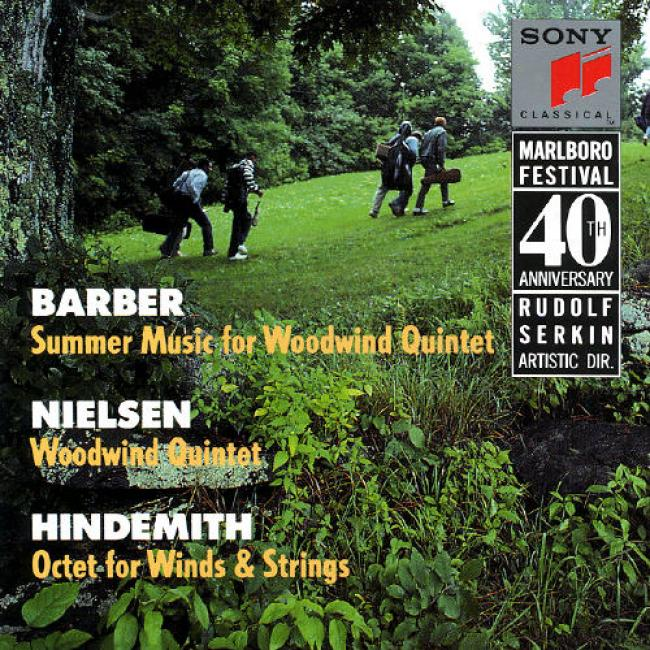 Marlboro Music Festival, 40th Anniversary - Barber/nielsen/hindemith